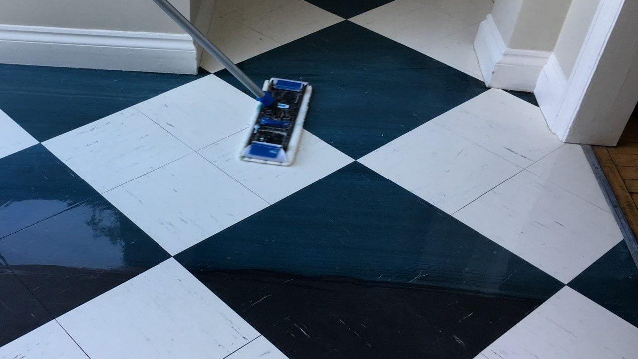1b - PVC floor protection