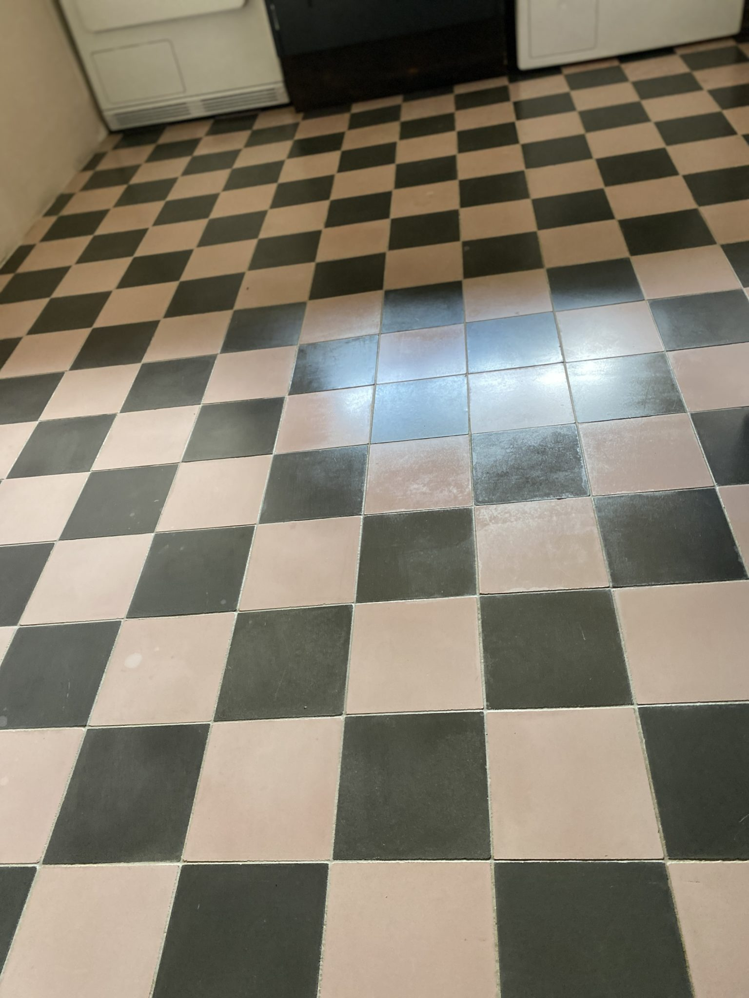 3b Encaustic tile cleaning after picture