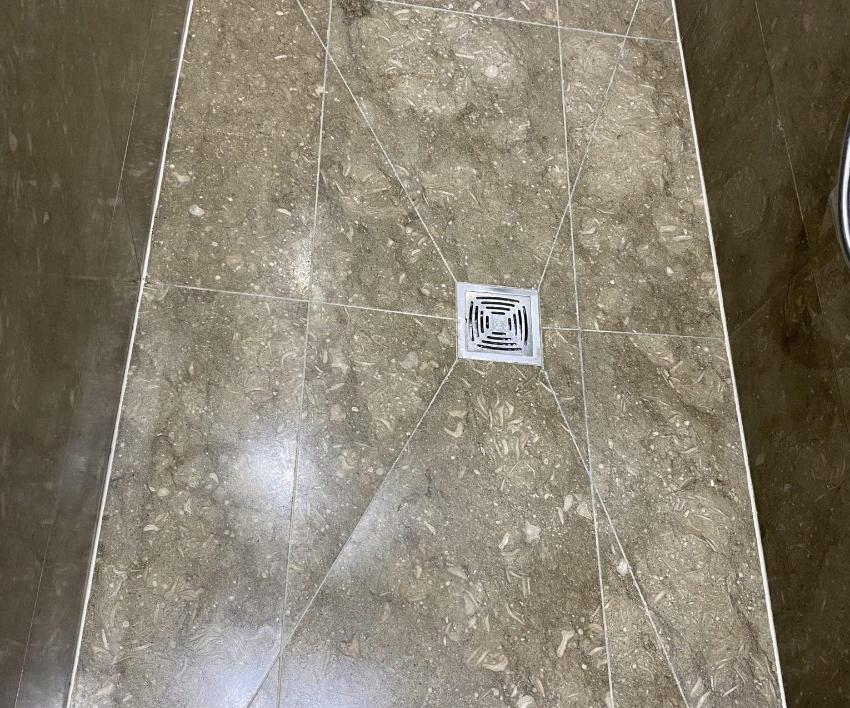 3b Removing limescale from a limestone bathroom