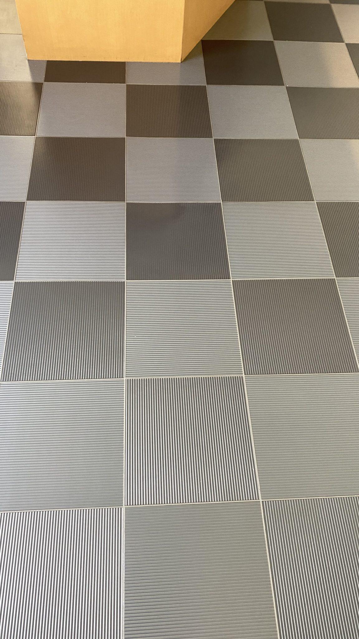 Amtico floor after restoration