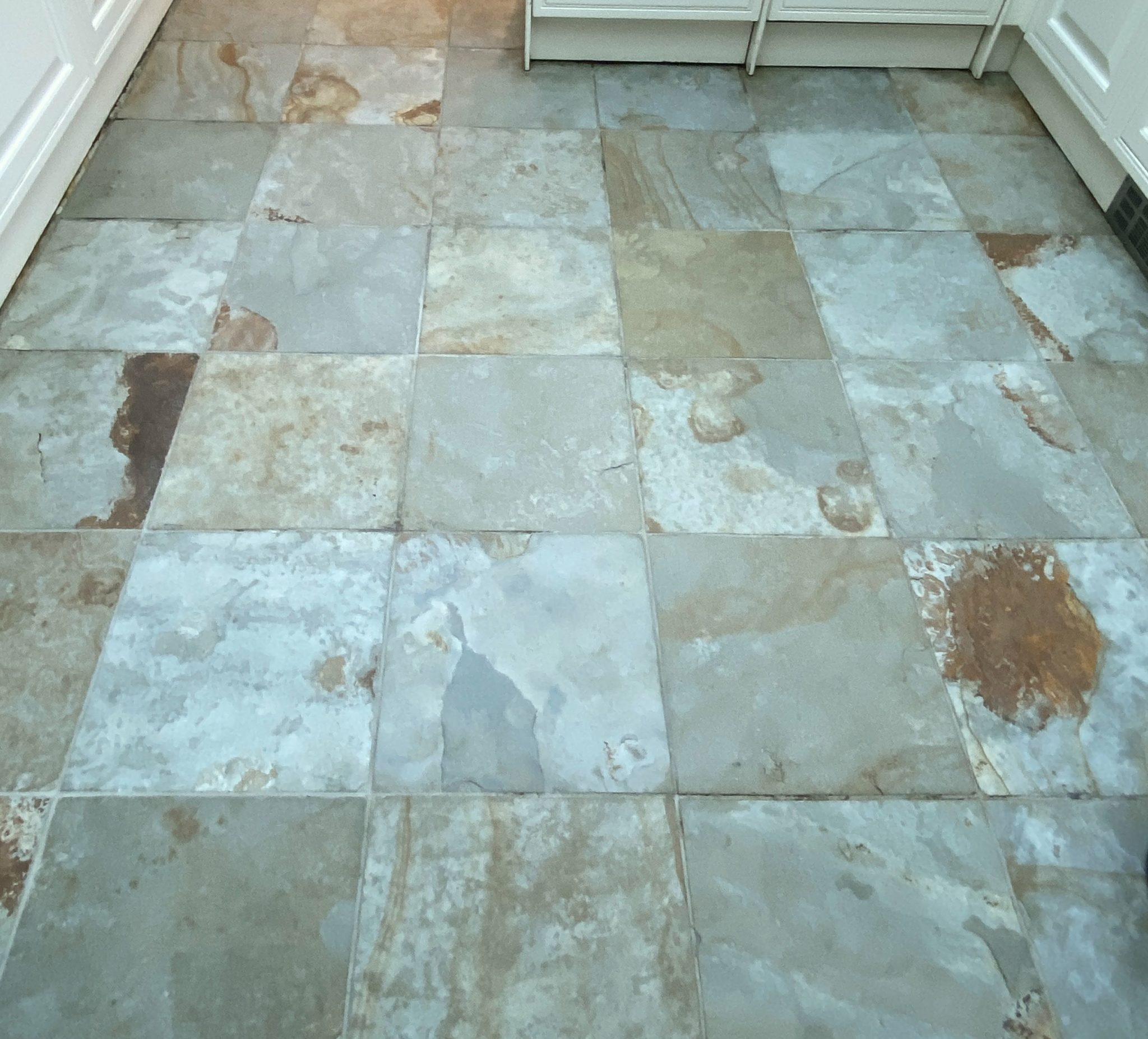 Clean slate tiles